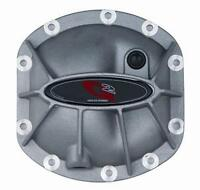 G2 Dana 25/27/30 Aluminum Differential Hammer Cover Front Armor Jeep Black