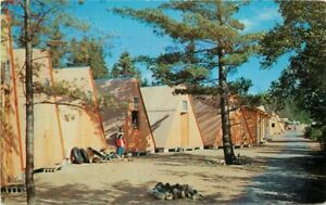 Camp-of-the-Woods-Lake-Pleasant-New-York-Tefft-039-s-Roadside-5820