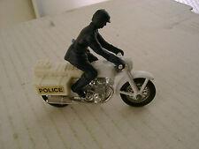 1977 MATCHBOX LESNEY SUPERFAST 33 POLICE WHITE BIKE MOTORCYCLE HONDA 750