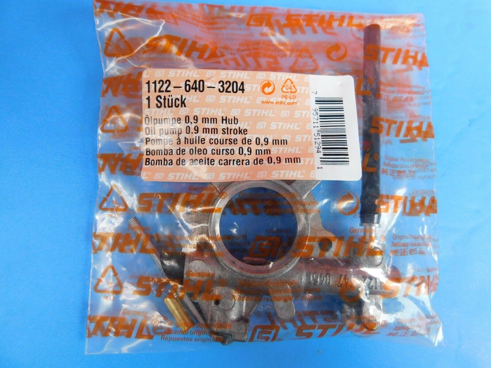 Stihl Oil Pump For Stihl 064 MS640 New Original  1122 640 3204 11226403204