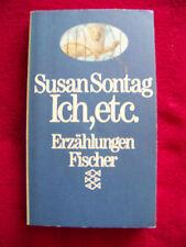 Susan Sontag - Ich, etc.           TB prima Zustand