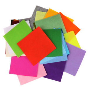 40pcs-15x15cm-Acrylic-Felt-Non-woven-Fabric-DIY-Material-for-Kids-Craft-Toys