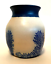 The-Elements-Pottery-Tobacco-Tree-Vase-Cobalt-Blue-Design-4-inches-Tall-Signed thumbnail 3