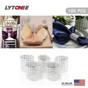 100-PCS-Sliver-Napkin-Rings-Buckles-for-Table-Decorations-Wedding-Dinner-Party
