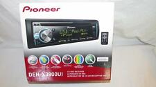 Pioneer DEH-3800UI In-Dash CD USB iPod Aux-in 2-RCA Pre-Outs SuperTunerIII-D FM