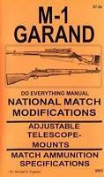 M1 Garand National Match Modification Manual M-1 Competition Precision Book