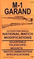 M1 Garand National Match Modification Manual M-1 Competition Precision Book