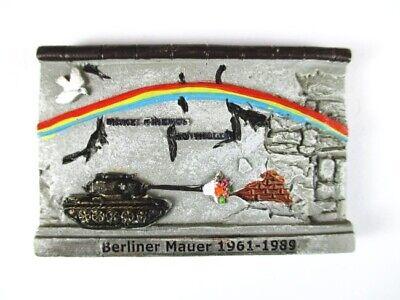 Berlin Mauer Wall Poly Magnet Fridge Souvenir Germany Deutschland,Neu,Hot