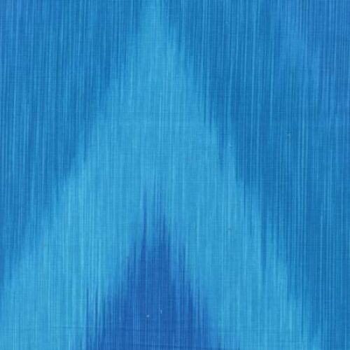 Timeless Treasures Ikat C4748 Turquoise Ikat Ombre COTTON FABRIC BTY