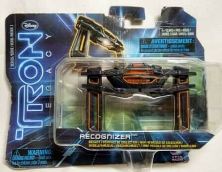 TRON 2010 DISNEY SPIN MASTER - RECOGNIZER DIECAST VEHICLE SEALED
