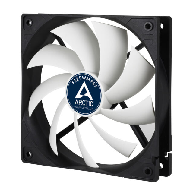 F12 PWM CO Arctic Cooling Continuous Operation FDB 120mm PC Computer Case Fan