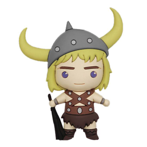 the BARBARIAN BOBBY Dungeons /& Dragons Series 2 Collectors Bag Clip 3D Figure
