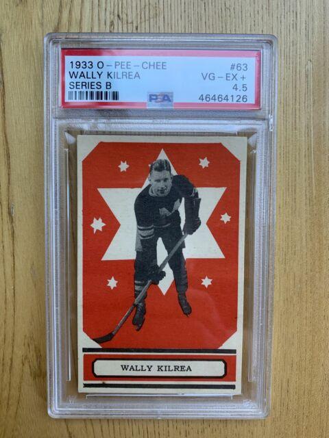 1933 O-PEE-CHEE V304B Wally Kilrea #63 PSA 4.5 VG-EX+