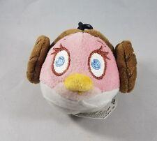 Star Wars Angry Birds Plush Princess Leia Pink Stella Bird
