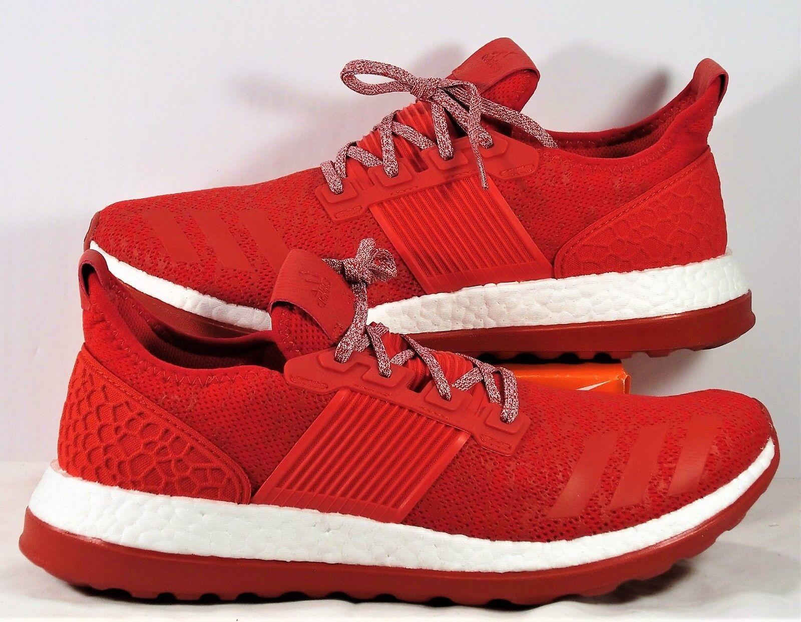Adidas puro white slancio zg red & white puro Uomo formazione scarpe nuove ba8453 sz 11 90591b