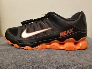 nike reax orange and black off 60