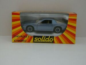Solido-n-1338-CHEVROLET-CAMARO-neuf-en-boite-Mint-In-Box-1-43