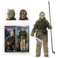 Jason Voorhees Figure Friday The 13th Part Vi 6 Lives Retro Clothed Series Neca
