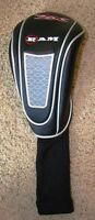 Ram Zx Driver Head Cover Black Silver Red Sock Style