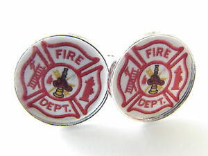 Fireman-Cufflinks-Firemen-firefighter-fire-hydrant-accessories-mens-cufflinks