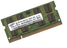2gb di RAM ddr2 memoria RAM 800 MHz Samsung N series NETBOOK n130-ja03 pc2-6400s
