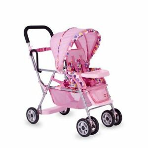 Joovy Toy Caboose Pink Standard Double Seat Stroller