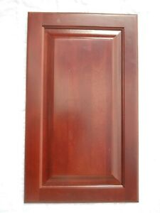 Red Cherry Kitchen Cabinet Cupboard Doors Square Raised Panel 19 X 22 Ebay