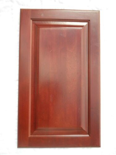 "RED CHERRY KITCHEN CABINET//CUPBOARD DOORS SQUARE RAISED PANEL 171//2/"" X 22/"""
