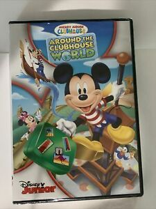 Mickey Mouse Clubhouse: Around the Clubhouse World [DVD ...
