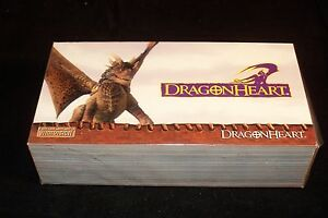 DRAGON HEART Complete Trading Card Set