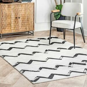 nuLOOM-Vintage-Addison-Modern-Chevrons-Area-Rug-in-Gray