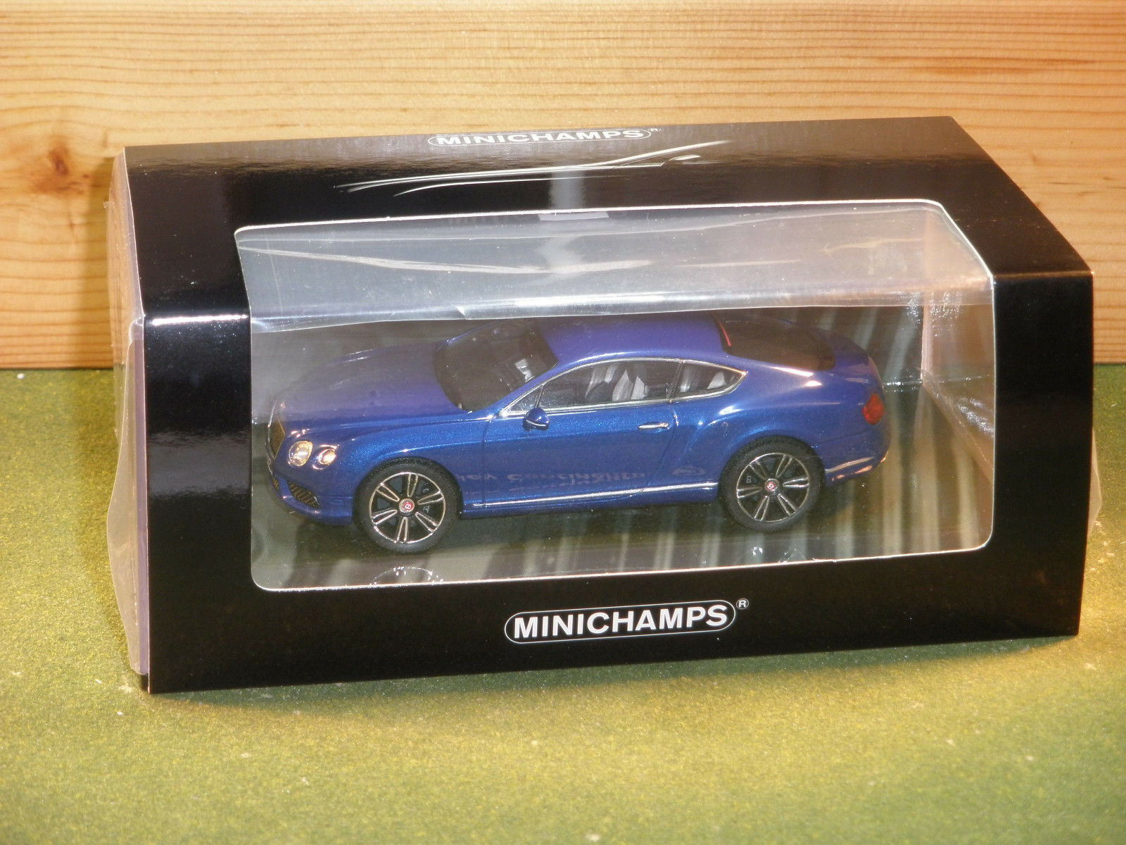 Minichamps Minichamps Minichamps 436 139982 Bentley Continental GT in Blu rd 96468c