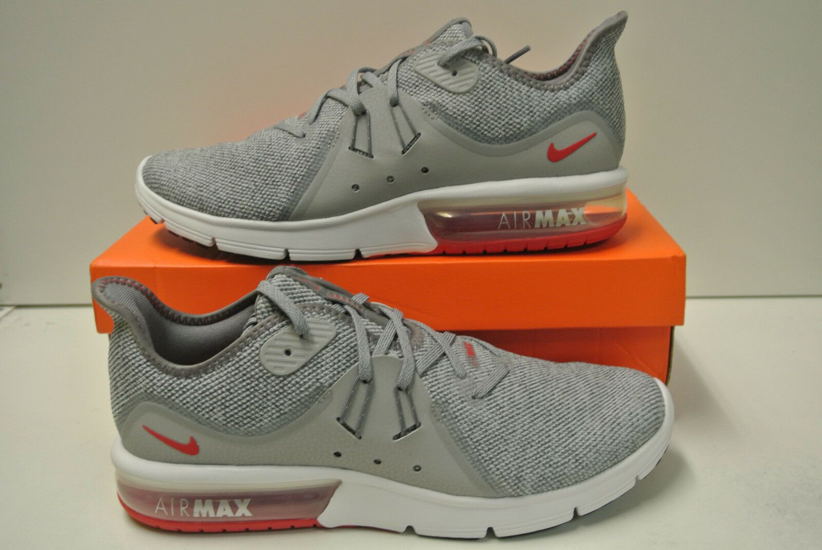 NIKE AIR MAX SEQUENT 3 chaussures hommes sport loisir basket gris 921694 015