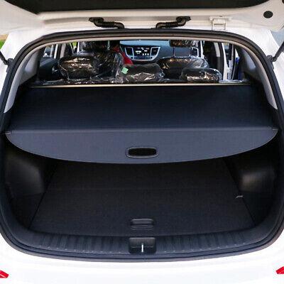 Trunk Shade Black Rear Retractable Cargo Cover 1pcs for Hyundai Tucson 2016-2019