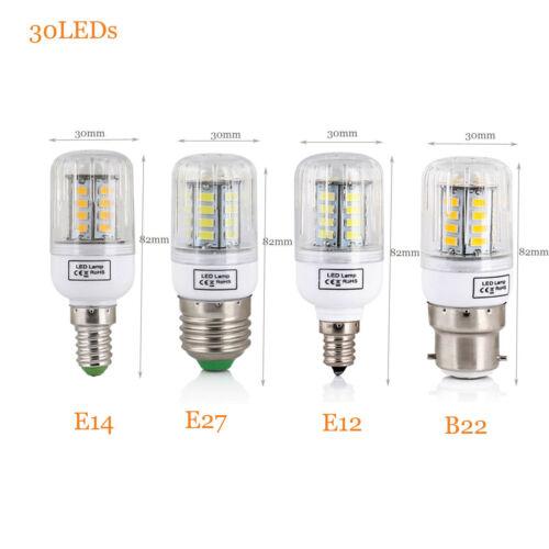 E27 E14 E12 B22 LED Corn Bulb 5730 SMD Light Corn Lamp Incandescent 20W 160W