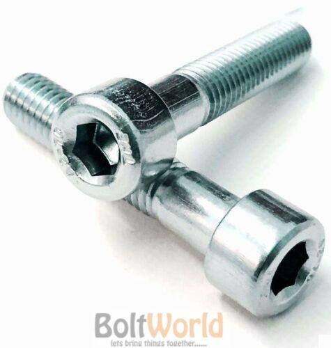 M8//8mm grado 12.9 Tornillos De Tapa De Enchufe De Zinc llave allen pernos de cabeza hexagonal DIN 912