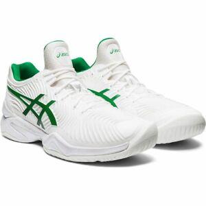 Asics-Court-FF-2-Novak-Djokovic-Men-039-s-Tennis-Shoes-Sneakers-White-Green