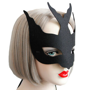 KE-AB-ZK-FT-Women-Black-Bird-Eye-Face-Mask-Fancy-Halloween-Party-Masquerad