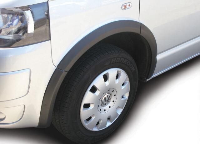 Radlaufabdeckung, Radlaufleisten ABS-Kunststoff  schwarz  VW T5  10tlg.