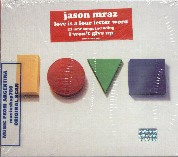 Love Is A Four Letter Word Digipak By Jason Mraz Cd Apr 2012