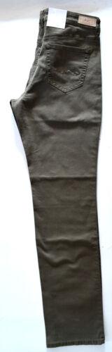 44 30 Straight Fit Slim Taglia Medium Stretch Jeans L Angela Brown Nuovo Mac zUaAqF