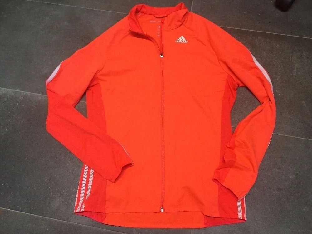 Adidas adizero Herren Jacke Gr. M Orange climacool wie neu