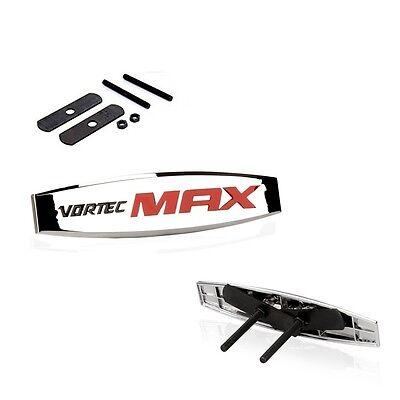 1 OEM Grille VORTEC MAX EMBLEM BADGES leaf SILVERADO Sierra TRUCK L Chrome Red