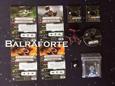 Imperial Veterans TIE Defender X-Wing Miniatures no upgrade cards