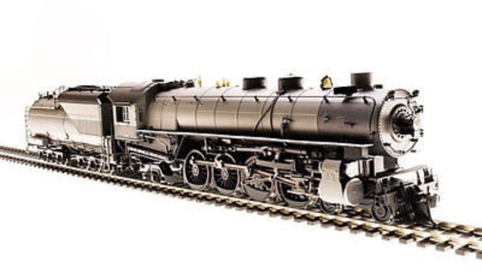 BROADWAY LIMITED 5474 HO UP MT Class 4-8-2 Unlettered  Oil Paragon3 DC DCC SOUND