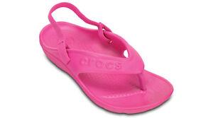 0fb773948 Crocs Childrens Kids Hilo Flips relax fit Flip Flops RRP £19.99