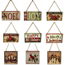 "Tidings Christmas Tree Holiday Tidings Wall Danglers 17'x10"" Select"