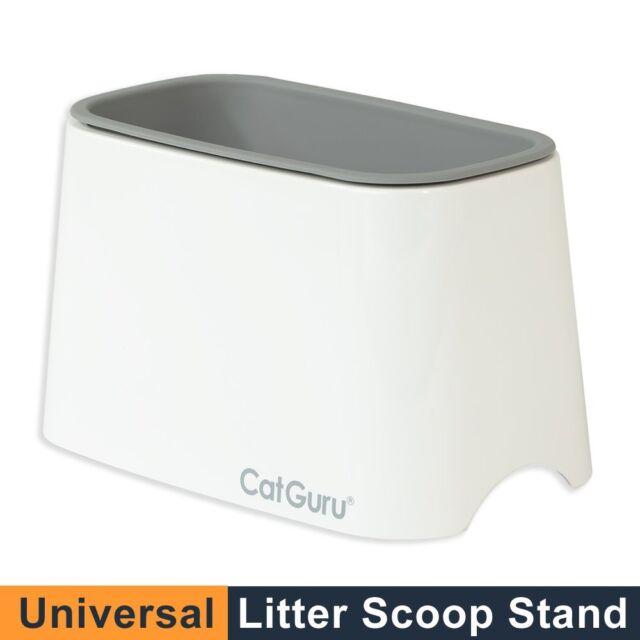CatGuru New Premium Cat Litter Scoop Holder, Scooper Caddy, Scoop Stand Pairs