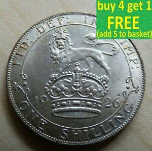 George V Shilling argent pièces choisissez votre date 1911 - 1936 Choix