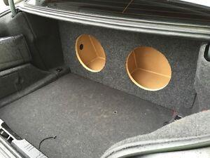 ZEnclosures BMW Series SUB BOX Subwoofer Enclosure - Acura tl subwoofer enclosure